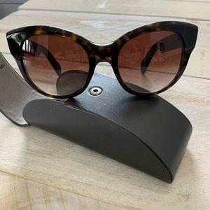 OLIVER PEOPLES NEW Brown Havana sunglasses